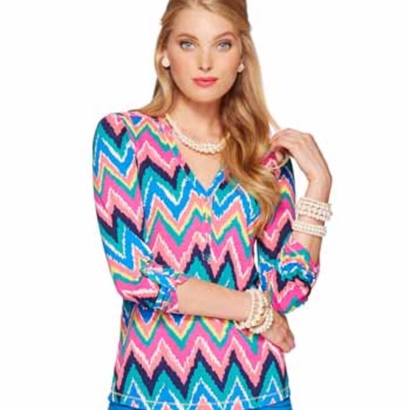 2ed6d41183c6a Lilly Pulitzer Tops - Lilly Pulitzer Janelle Top
